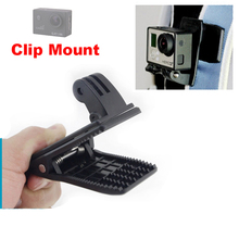 Action camera accessories 360-Rotary Backpack Clip Fast Clamp Mount for GoPro Hero 4 /3+ /3/ SJ4000/SJ5000 Xiaomi xiao yi