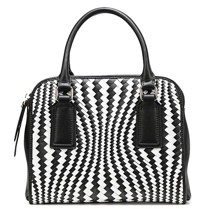 2015 New Famous Brand Women Bag Fashion QIWANG High Quality Genuine Leather Women Tote Handbags Women Knitting Messenger Bags<br><br>Aliexpress