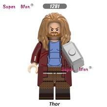 Único Fim Do Jogo Homem De Ferro Black Widow Hawkeye Thor Capitão América Avengers Loki Chitauri 4 blocos de construção de Brinquedos Infantis(China)