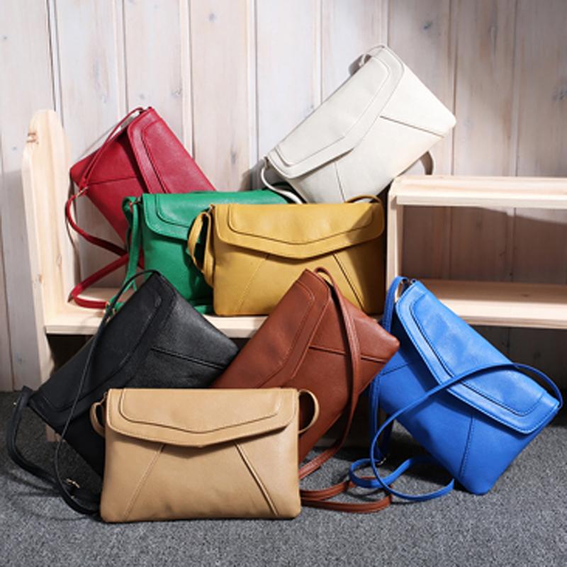 Lovesky Fashion Women Envelope Bag Pu Leather Handbag Shoulder Bags Ladies Vintage Crossbody Sling Messenger Bag New Bolsas(China (Mainland))