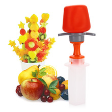 Good Tool for Chef Woman Fast Treats Pop in Seconds Mould Decorations Fruit and Vegetable Tool Have Fun Kids High Quality(China (Mainland))