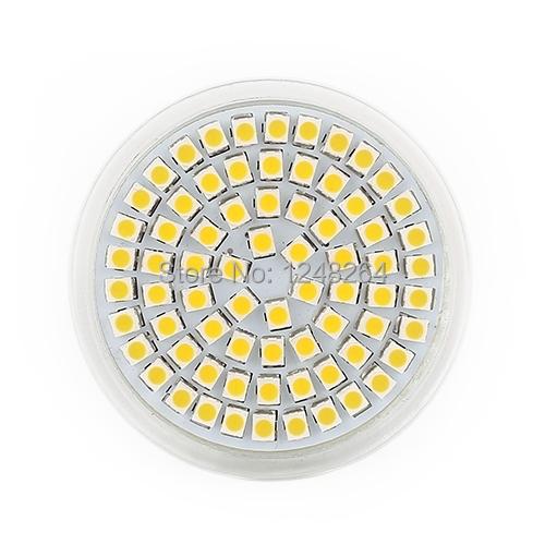 10pcs/lot MR16 Warm White 60leds Energy Saving Spot Down Light Lamp Bulb 12V 5W 480LM Low Power Free Shipping(China (Mainland))