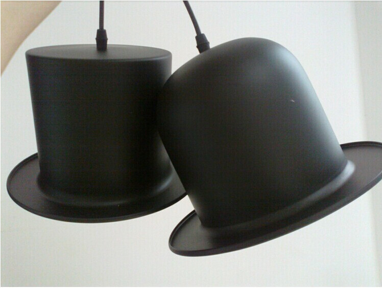Купить Современный Алюминиевый Подвесной Светильник Творческий Шляпа Подвесной Светильник столовая Кухня Светильник 110 В-240 В Abajur люстры де сала