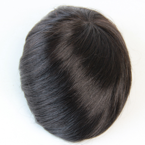 "6 inches Brazilian hair mens toupee Super Durable and Super Thin Skin toupee 6""X8"",7""X9"",8""X10"" base size for your choice(China (Mainland))"
