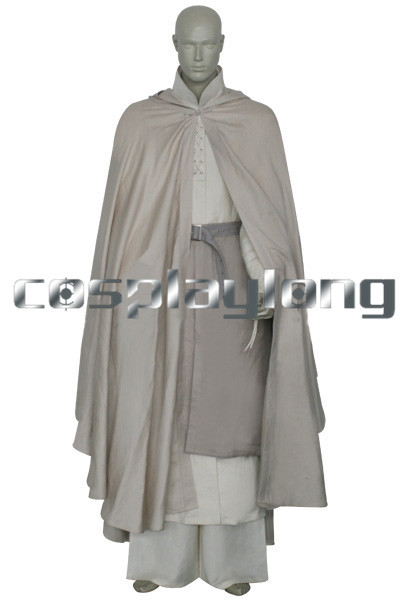 Free shipping Lord of The Rings Gandalf Cosplay Costume Anime Special Offer Broadcloth Adult Anime Character Costumes
