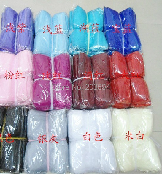 BHFGFJ l !Wholesale Free Shipping Organza Bags 30x40cm,Drawable Wedding Gift Bags &amp; Pouches,100pcs/lot<br><br>Aliexpress