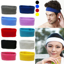 Hot Sale Yoga Sport Headband sweatband Hair Hoop Ribbon Large Expandable Cotton Fibre Hair clips(China (Mainland))
