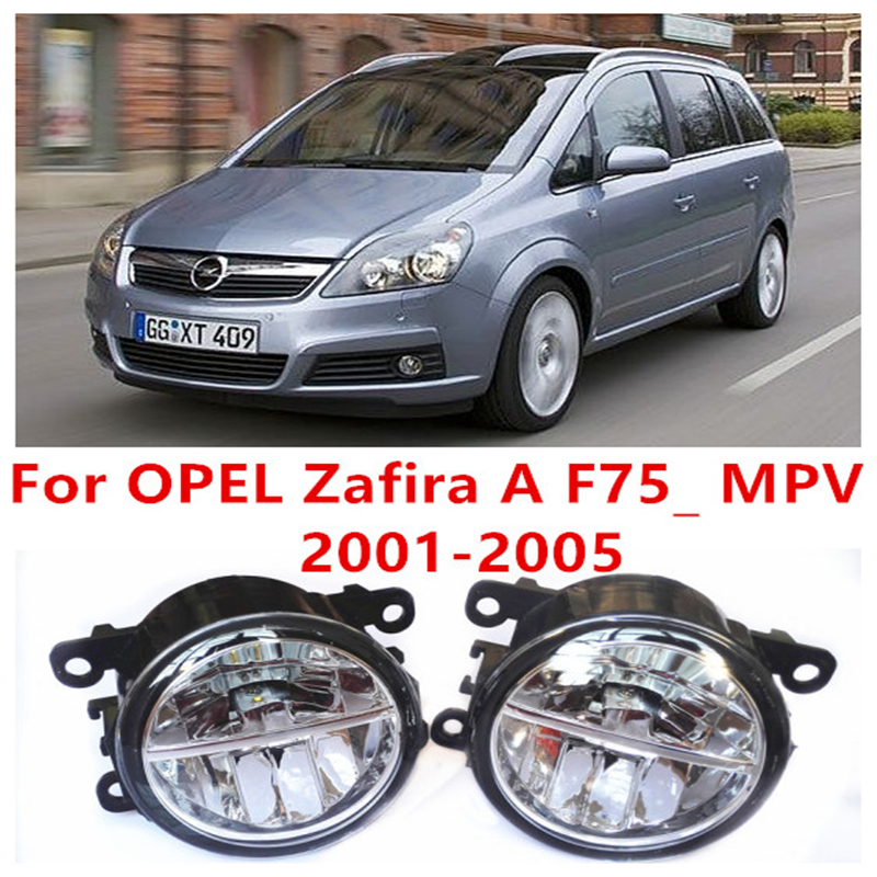 For OPEL Zafira A F75_ MPV  2001-2005 10W Fog Light LED DRL Daytime Running Lights Car Styling<br><br>Aliexpress