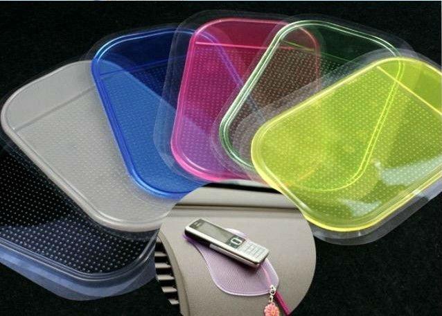 Free shipping 1pcs Wholesale Magic Non slip sticky pad anti slip mat Car Anti slip Pad Washable Durable Use 80024(China (Mainland))