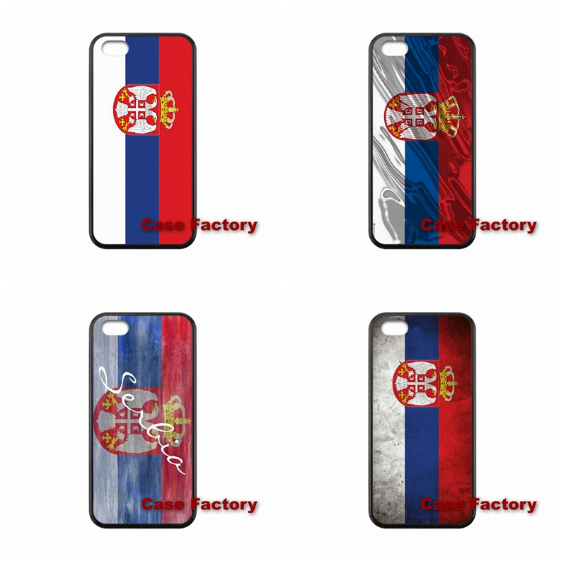 For Sony Z1 Z2 Z3 Compact BlackBerry 8520 9700 9900 Z10 Q10 Samsung S4 S5 S6 Active Win S Duos2 Serbia flag Cases cell phone(China (Mainland))