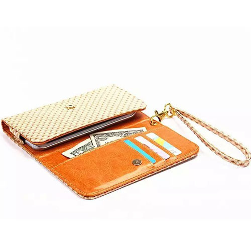 Universal Grid Style Wallet Card Cover Case Phone Pouch PU Leather Bag for BlackBerry Z10(China (Mainland))