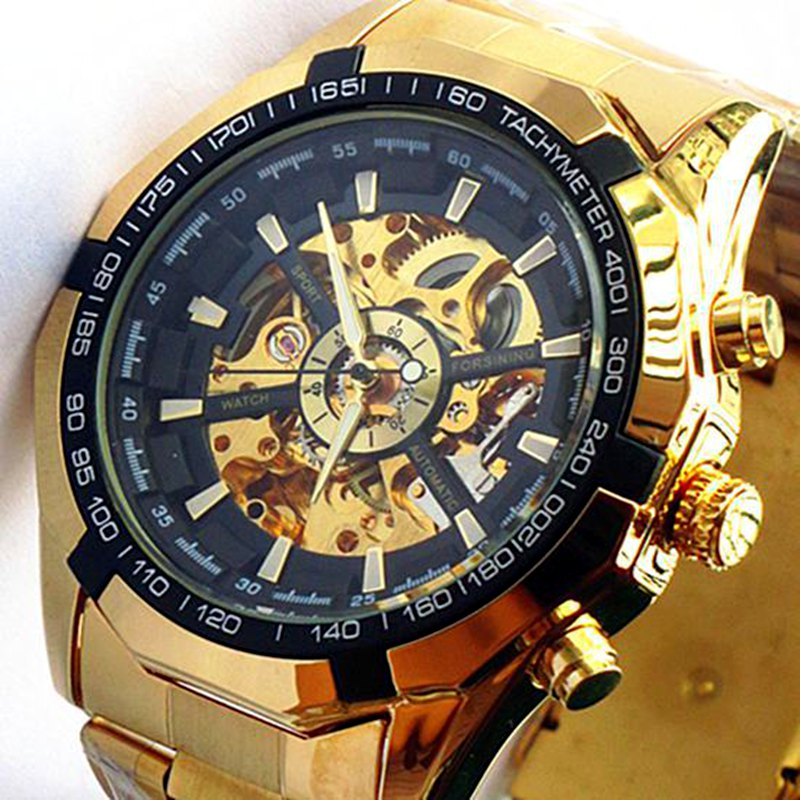 GAGA! Brand New Clock Mens Automatic Mechanical Men Wrist Watch Military Style Wristwatches - Belong With You store