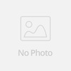 2016 New Felt Flower With Leaves Headbands Baby elastic headband newborn hair accessories baby rose flower hairbands(China (Mainland))