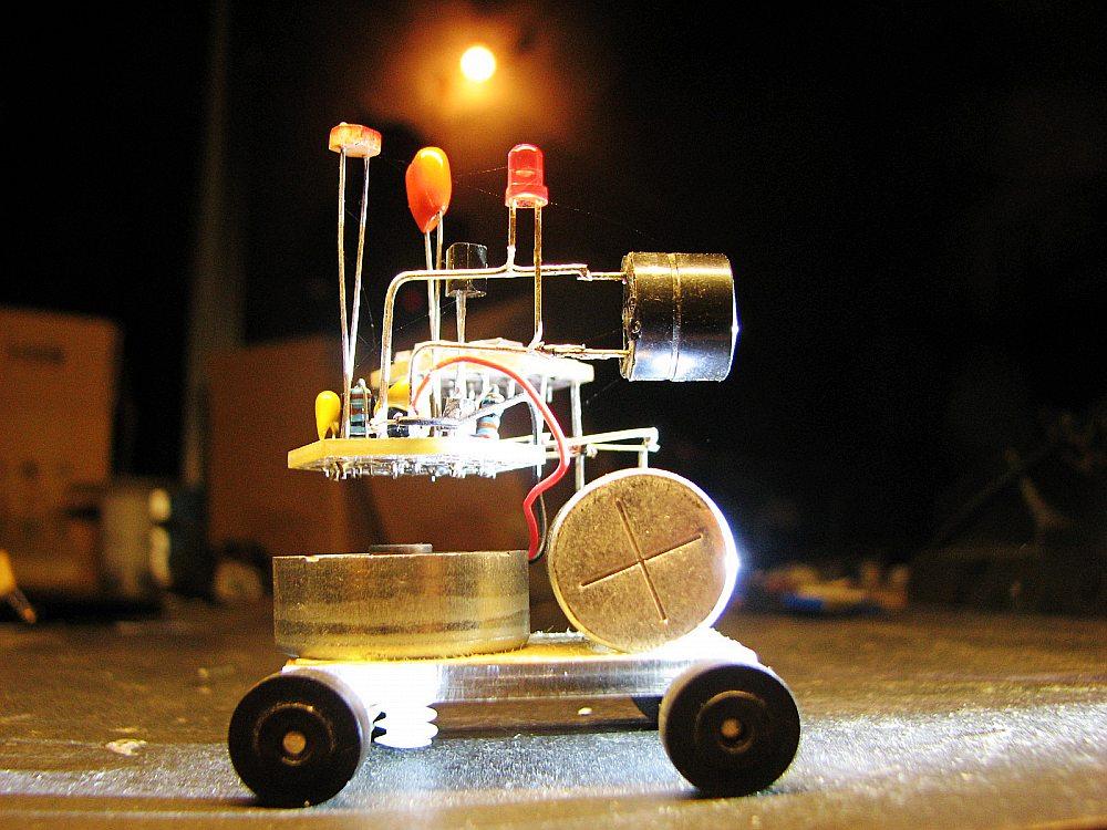 BEAM robot solarbotic soarbeam robotic soldering kits electronic diy kit robot assemble kit(China (Mainland))
