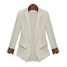 Spring Basic Jackets Women Blazer Peplum Slim Fit Casual Top Blazer Women Suit Jacket Plus Size Blazer Feminino 12