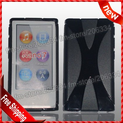 Чехол для MP3 / MP4 Hcycase 7 x x apple Ipod Nano 7case , DHL 100pcs/lot For Ipod Nano 7 apple ipod nano chromatic 4g 8gb
