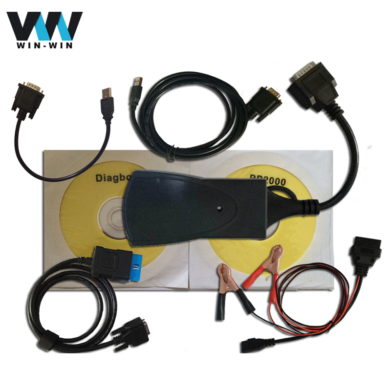 2016 NEW Arrival Lexia 3 pp2000 Plus with LED light Lexia3 Lexia-3 for Citroen for Peugeot Diagnostic Tool With New Diagbox 7.56(China (Mainland))