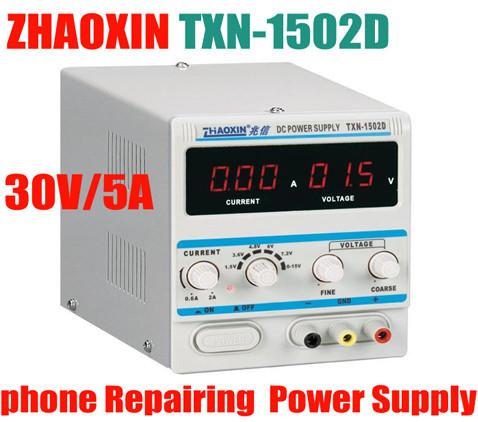 ZHAOXIN TXN 1502D Adjustable DC Power Supply 15V 2A Power Cable zhaoxin TXN 1502D.