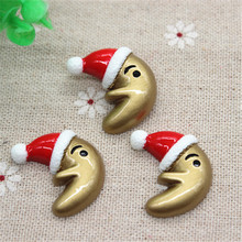 Buy 10PCS Kawaii Resin Moon Christmas Hat Flatback Cabochon Embellishment Accessories DIY Scrapbooking Craft,23*25mm for $2.49 in AliExpress store