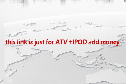ATV+IPOD use in our company Android Model,option functions need buy with our model together(China (Mainland))