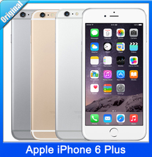 "Original Apple iPhone 6 Plus IOS 8 Dual Core 1.4GHz 1G+16G Storage 5.5"" inch 8.0 MP Camera LTE Unlocked Cell Phone Free Shipping(China (Mainland))"