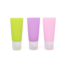 Portable cosmetic travel points bottling kit tourism supplies hotel supplies silicone bottle  M01855a(China (Mainland))