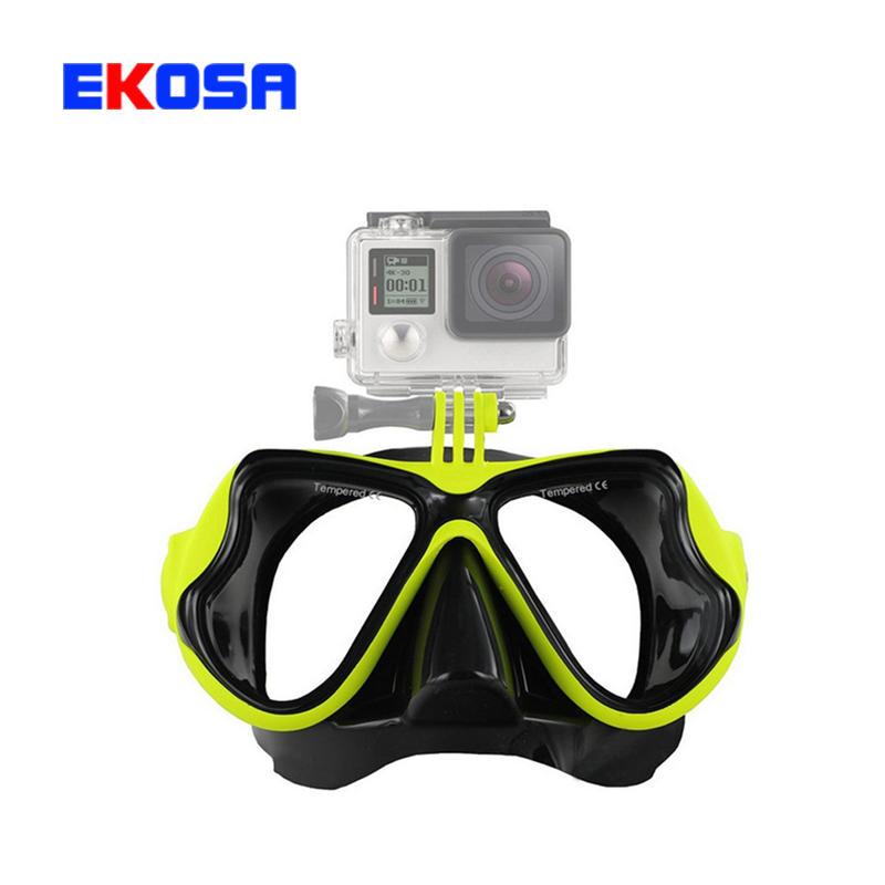 Gopro Accessories Scuba Diving Mask Swimming Glasses Dive Mount equipment for Go Pro Hero 4 3+ 3 SJ4000 Xiaomi Yi Action Camera(China (Mainland))