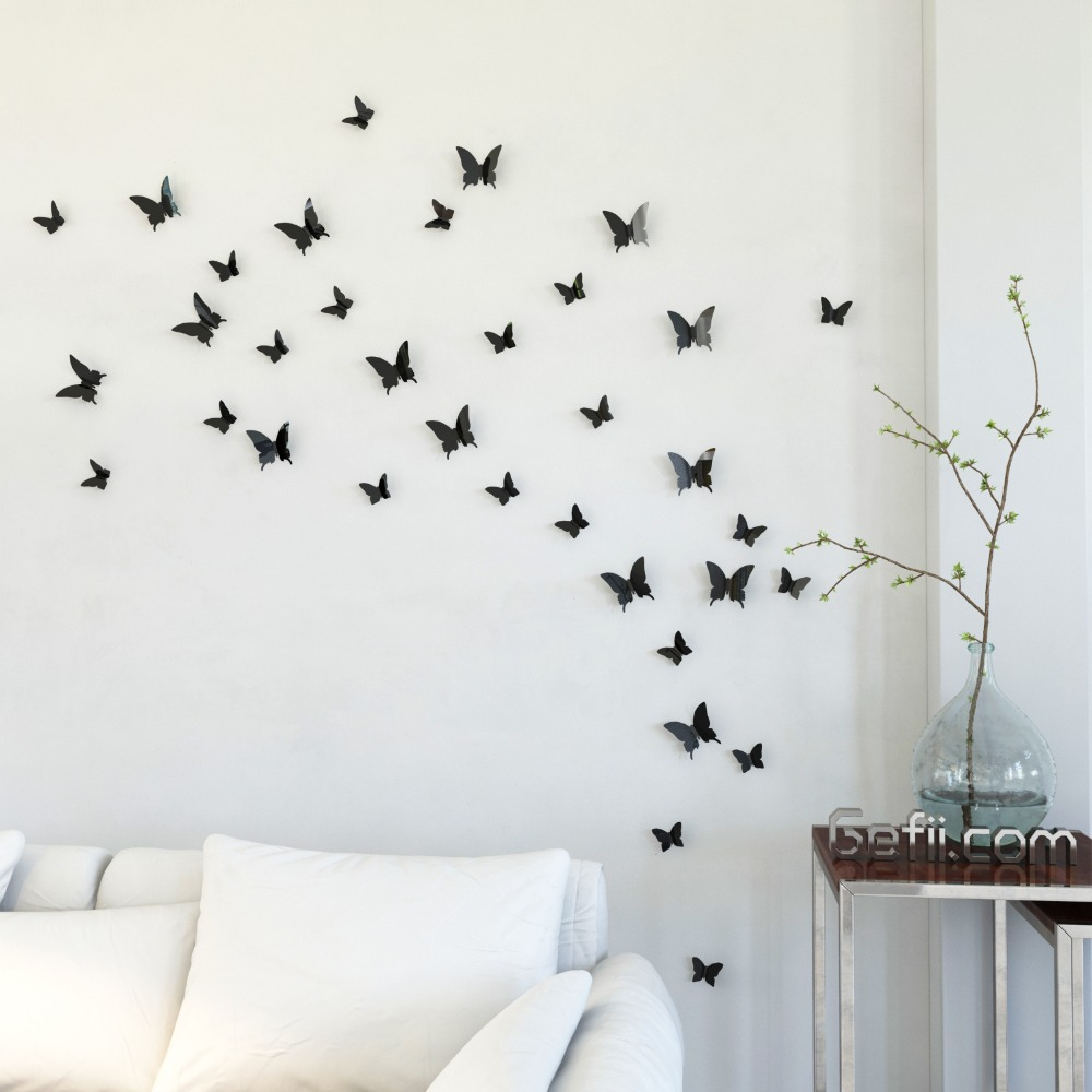 3d Butterfly Wall Decor Butterfly Wall Art Diy Butterfly Wall Art Pictures Photos And