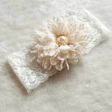 Bridal Ivory Flower Wedding Garter