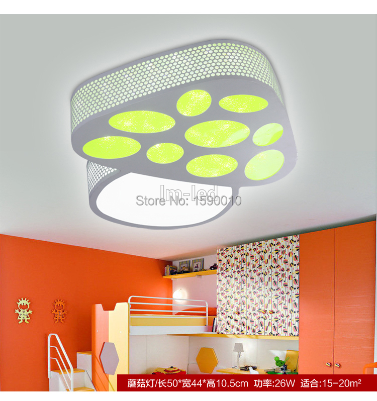LED ceiling light dimming palette lamps bedroom lamp balcony lamp living room lights modern brief free shippin(China (Mainland))