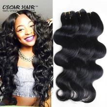 Today Only! 6 Bundles Brazilian Virgin Hair Rosa Hair Products Brazilian Body Wave Brazilian Hair Weave Bundles Hair Extension(China (Mainland))