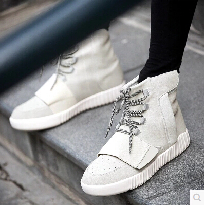 High quality new yeezy men s shoes of the spring and autumn and the shoelaces flow