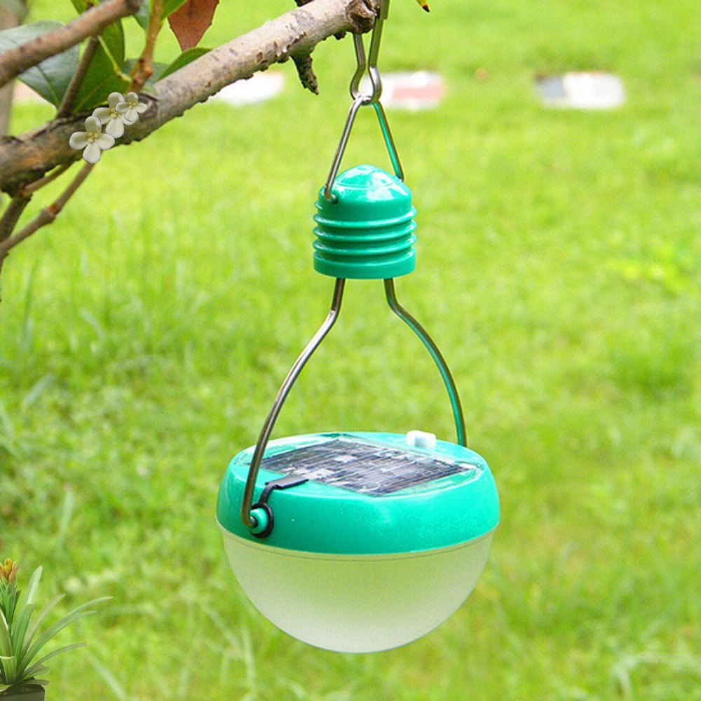 New Arrival Promotion N300 High Quality Intelligent 7 LEDs 72Lm Solar Night Light IP55 Water Resistant Garden Camping Lawn Lamp(China (Mainland))