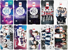 Lot 5 Seconds of  Summer plastic Hard Cover For Samsung Galaxy S2 S3 S4 S5 Mini S6 S7 Edge Plus Note 2 3 4 5 Mobile Cell Case(China (Mainland))