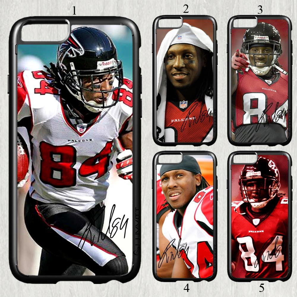 Roddy White signed NFL star fashion original cell phone case cover for iphone 6 plus (5.5 inch) protection back cover(China (Mainland))