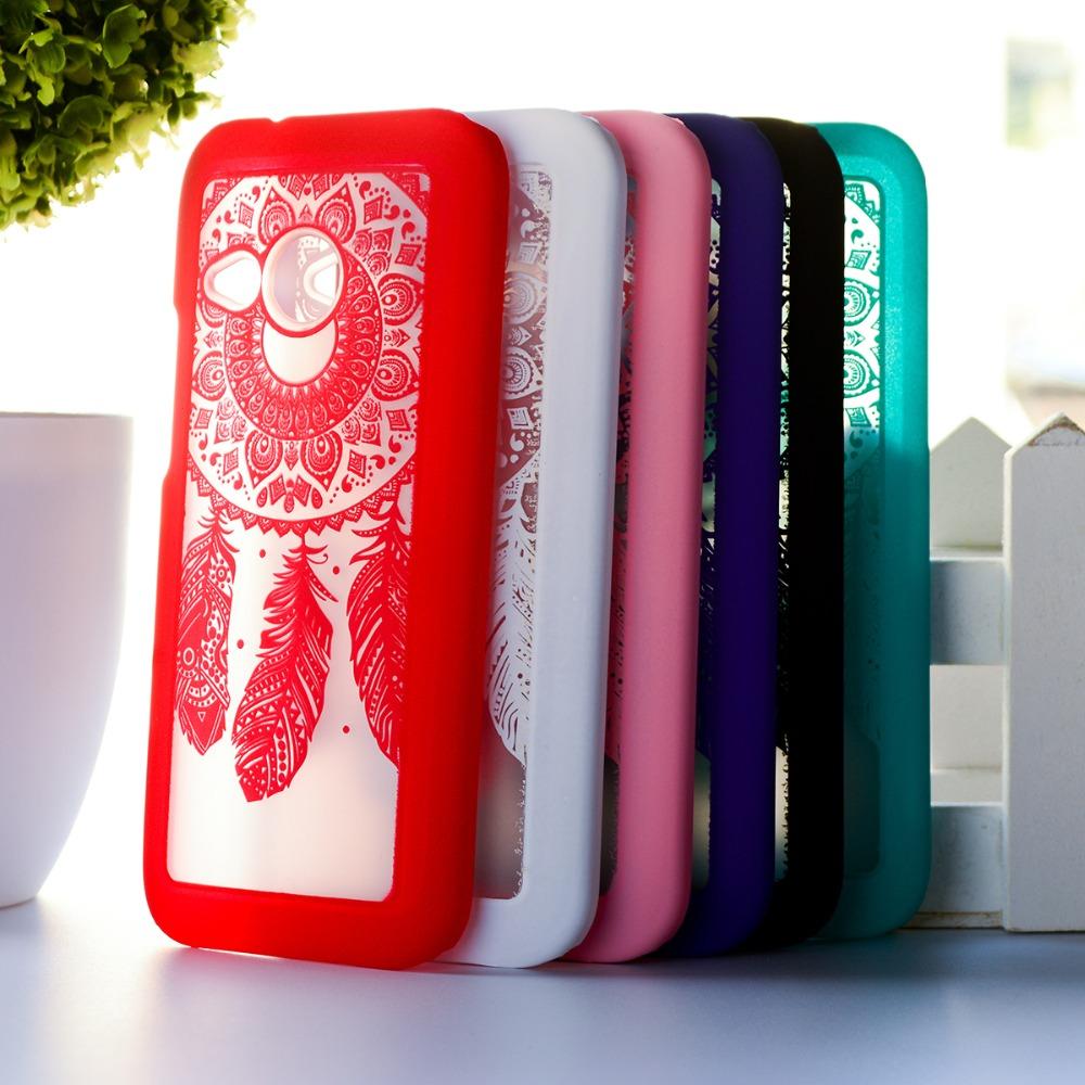 "Luxury Dream Catcher Hard Case for HTC One 2 Mini M8 mini 4.3"" Mobile Phone Covers Plastic Clear Retro Case For HTC M8 Mini(China (Mainland))"