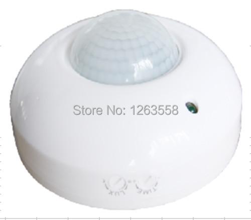 Гаджет  free shipping new celling motion sensor switch 360 degree detection range 6m PIR infrared motion sensor switch None Безопасность и защита