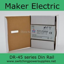 Low price directly sale 2A 45watt Din Rail model firm DR 45 24 2A 45w power