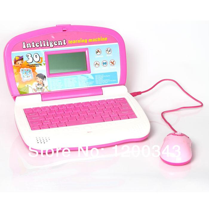 Spanish Language Education Learning ,English Tablet Laptop Learning Machine for kid,66116ES(China (Mainland))