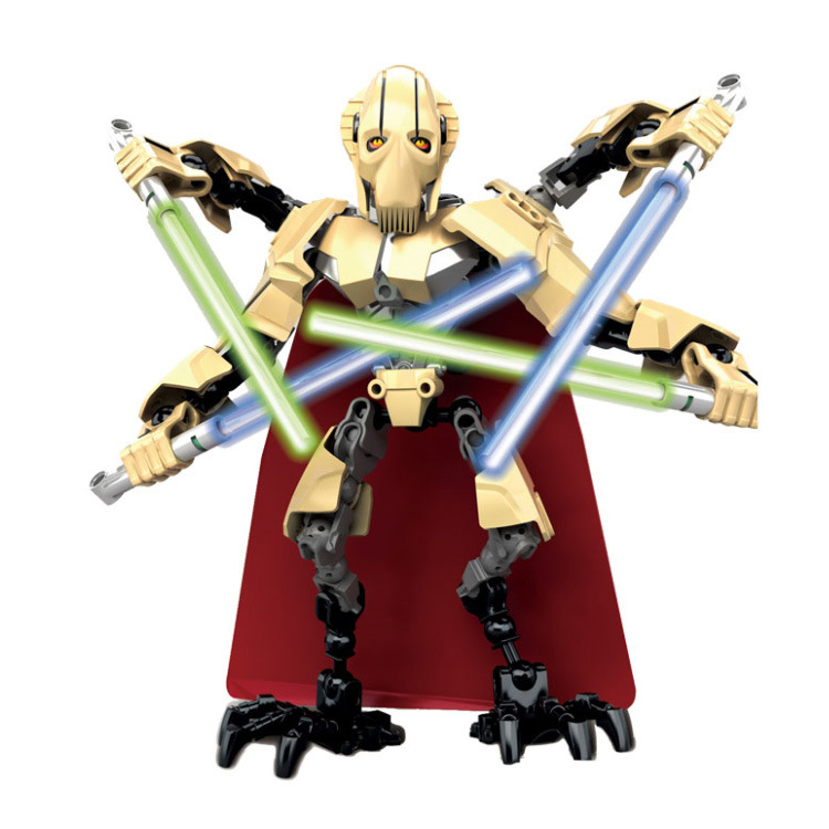 Legoelieds XSZ Limited Edition Star Wars Prince of the Devils Robot Minifigure Building Block Toys Action