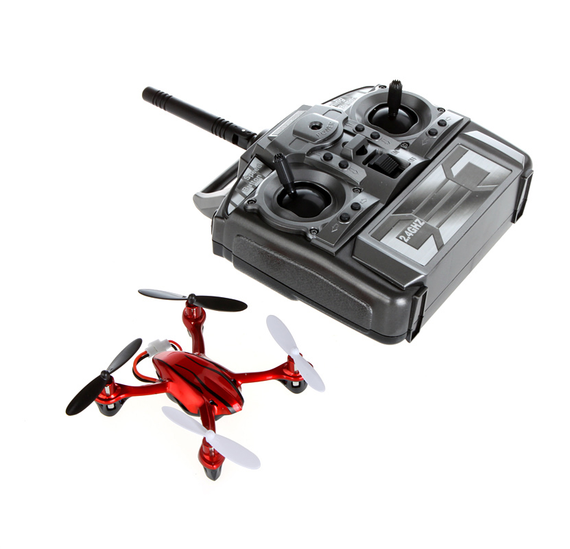 Big Sale ! High Quality Mini UFO 2.4G 4 Channel 6AXIS Aero Craft RC Quadcopter 3D Rolling Red Drone(China (Mainland))