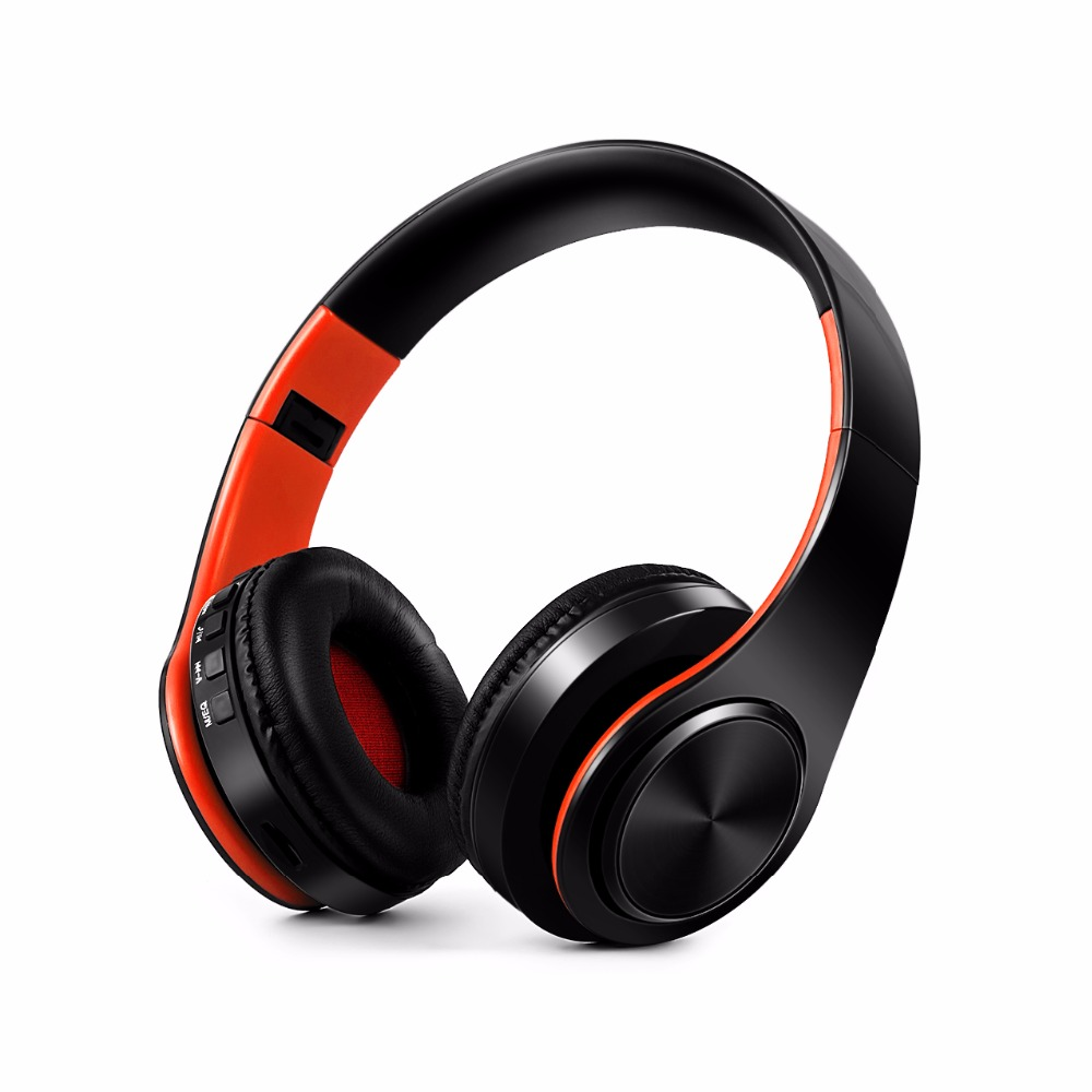 New Arrival colorful stereo Audio Mp3 Bluetooth Headset Foldable Wireless Headphones Earphone support SD card with Mic(China (Mainland))