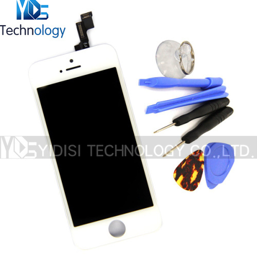 Здесь можно купить  HK Post Free Shipping NEW Original LCD Assembly For iPhone 5S LCD With Touch Screen Digitizer White Replacement  Телефоны и Телекоммуникации