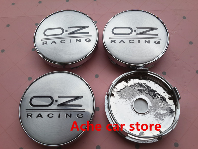 High quality 60mm OZ Wheel Center Hub Caps Wheel Dust-proof emblem covers car styling auto accessories 20pcs/lot Free shipping(China (Mainland))