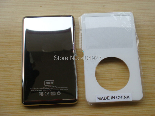 For iPod VIdeo 5 Full Housing Frame Bezel Plate Genuine New 30GB 60GB 80GB 10pcs/lot(China (Mainland))