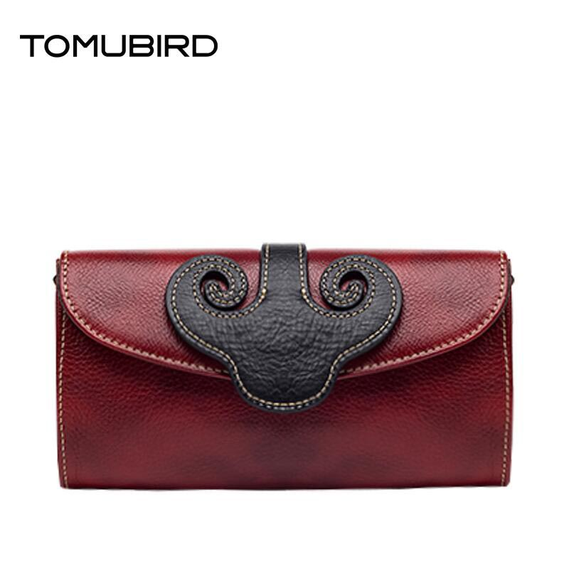 TOMUBIRD 2016 New luxury women bags fashion national wind evening bags genuine leather clutch bag women leather shoulder bag(China (Mainland))
