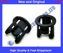 Free Shipping 100pcs 5mm Black Plastic LED Clip Holder Case Cup Mounting New Free Shipping(China (Mainland))