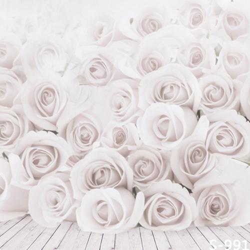Fashion Portable Background Elegant White Roses Portrait