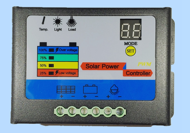 Solar Controller 10A 60V electric car charger board electrical power generation controller Yau Ho<br>