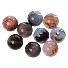 "Buy DoreenBeads Acrylic Spacer Beads Round Random Crack Pattern 10mm (3/8"") Dia, Hole: Approx 1.9mm, 20 PCs for $1.44 in AliExpress store"